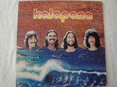 Kalapana Self Titled Original Abattoir Records Hawaiian Islands VG+/VG++ Lp Vinyl, Vinyl Records, Internet Radio, Record Collection, Hawaiian Islands, Pop Rocks, Hard Rock, Rock N Roll, Surfing