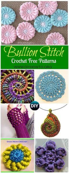 Crochet Flowers - 90+ FREE Crochet Flower Patterns | Quick crochet ...