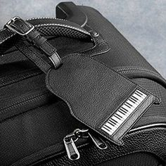 Piano keyboard luggage tag Piano Art, Piano Music, Music Notes, Music Stuff, Music Is Life, Household Items, Keyboard, Music Instruments, Tag Luggage
