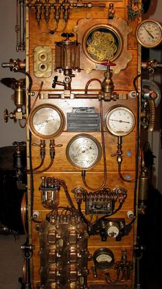 As insane Steampunk PC case mods go, this Frankenstein machine by D. Mattocks