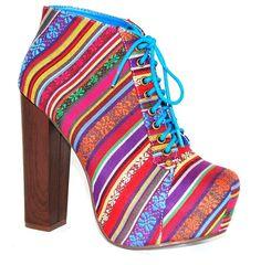boho heels