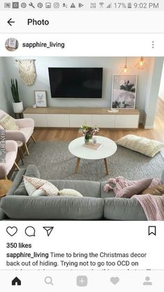 Small Living Rooms, New Living Room, Interior Design Living Room, Home And Living, Living Room Designs, Living Room Decor, Decor Room, Living Room Inspiration, Home Decor