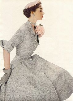 vintage fashion photo from the 50s