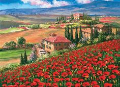 Tuscany Villa, Italy - 1000pc Jigsaw Puzzle by Perre http://www.seriouspuzzles.com/i15710.asp