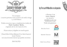 Luxury Vintage Sales