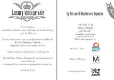 Luxury Vintage Sales