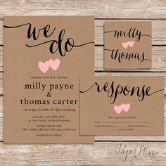 vintage wedding stationery - Google Search