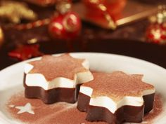 Receta de Gelatinas de Chocolate y Crema