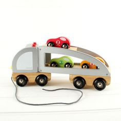 Multi Car Truck Transporter Toy