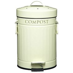 Kitchen Craft Compost Pedal Bin with Charcoal Filter 3 Litres Pack of 2 *** You can find more details by visiting the image link.