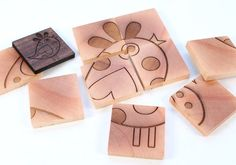 twosided wooden puzzle  BIRD and BUTTERFLY  a by SmilingTreeToys, $13.00