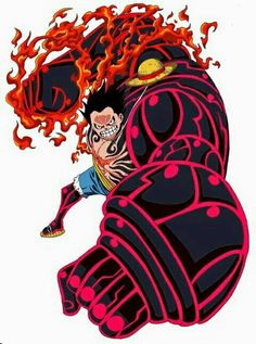 Luffy 4th Gear