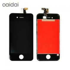 Apple 10pcs/lot Lcd Display Touch Screen For Iphone 4 4s Mobile Phone Lcds Digit