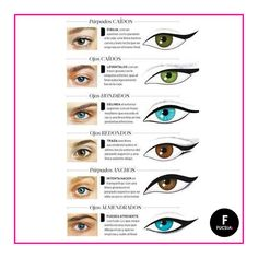 RT @revistafucsia: Reconoce la forma de tus ojos para poder maquillarte adecuadamente. *Imagen: vía Pinterest* https://t.co/cwXwwTCF9E - Angélica Torres