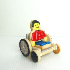 Lego announced it will be releasing its first mini-figure in a wheelchair later this year.