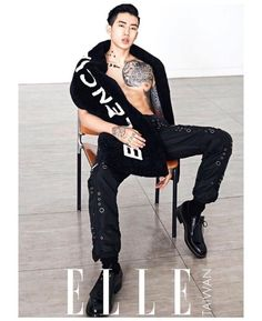 Jay Park - Elle Taiwan Magazine '16
