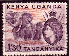 Postage Stamps Kenya Uganda Tanganyka 1960 Animals SG 176 Fine Used SG 113 Scott 117 For Sale Take a look