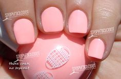 I love this colour. Easter Peach Pastel Nail Polish