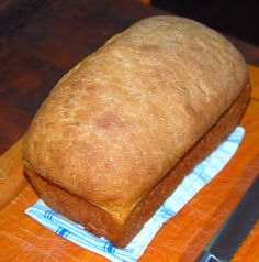 Fast Whole-Wheat Bread. I need to start making my own bread...it would save money and be so much tastier than store bread!