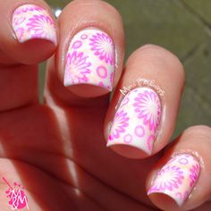 Manis & Makeovers: Double stamping with BP L005