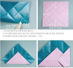 D Origami: Diagrams