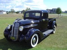 1937 Plymouth Truck ~ They are very rare. Antique Trucks, Vintage Trucks, Antique Cars, Vintage Auto, Cool Trucks, Big Trucks, Cool Cars, Old Pickup Trucks, Dodge Trucks