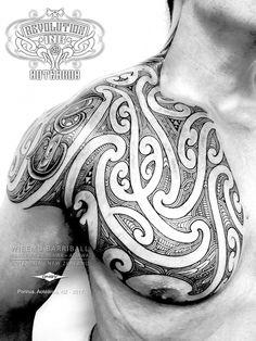 meaning behind polynesian tribal tattoos Polynesian Tribal Tattoos, Samoan Tattoo, Leg Tattoos, Body Art Tattoos, Maori Tattoos, Tattoo Art, Trendy Tattoos, Cool Tattoos, Maori Patterns
