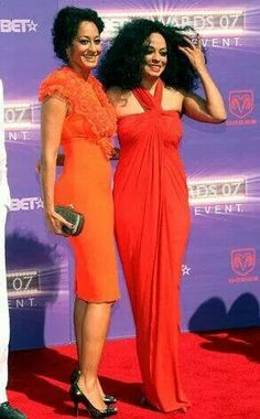 Diana Ross and other daughter Tracey Ellis-Ross