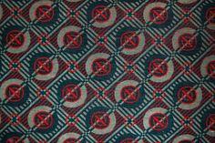 Roundel - Eddie Chapman for London Transport. in 'Moquette' fabric