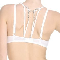 white temple wired padded balcony bra 161701 white - spring 2012 - marlies dekkers