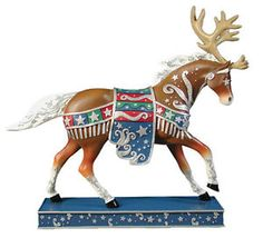 Trail of Painted Ponies Retired | Details about Trail of Painted Ponies REINDEER ROUNDUP Retired, New in ...