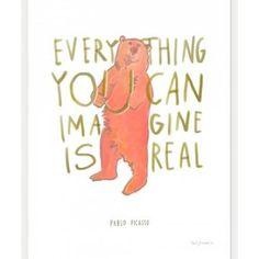 Everything You Can Imagine Print | Lulu and Georgia