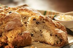 Our homemade Irish Soda Bread takes only 15 minutes to prepare. There's no yeast in this quick bread, so you'll be enjoying a loaf of fresh baked homemade bread in no time!