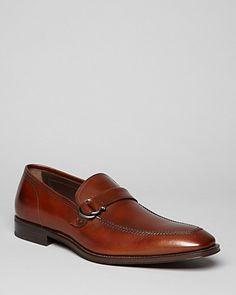 Salvatore Ferragamo Teo Double Gancini Strap Loafers | Bloomingdale's