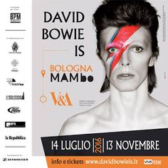 ARTE CULTURA: David Bowie IS al MAMbo