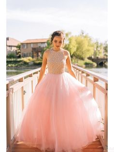 Pink Prom Dresses, Long Prom Dresses, pretty prom dresses A-line Scoop Floor-length Tulle Prom Dress Evening Dress Prom Gowns Elegant, Pretty Prom Dresses, Ball Gowns Prom, A Line Prom Dresses, Tulle Prom Dress, Ball Dresses, Homecoming Dresses, Long Dresses, Party Gowns