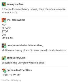 Multiverse theory
