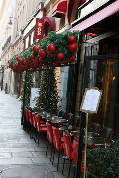 Christmas In Paris, Christmas Time, Rivoli, Port Royal, Decoration, Paris France, Coffee Cups, Bar, Blue Grey