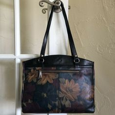 New Authentic Patricia Nash. Leather Handbags, Leather Wallet, Leather Bag, Patricia Nash, Vintage Handbags, Poppy, Traveling, Purses, Tote Bag