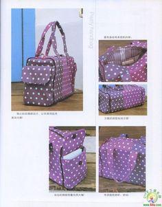 3 travel bag patterns