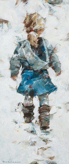 """""""Sneeuwstapjes"""" van Dorus Brekelmans"""