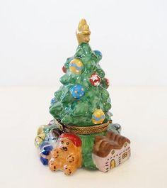 Limoges Christopher Radko CHRISTMAS TREE Box.