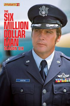 The Six Million Dollar Man: Season 6 #2 Cover Photo Variant