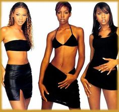 Enter to Destiny´s Child homepage Kids Outfits, Cute Outfits, Beyonce And Jay Z, Destiny's Child, 2000s Fashion, Runway Fashion, Culture, Black Women, Celebs