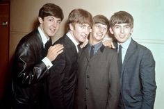 1963:  Rock and roll band 'The Beatles' pose for a portrait in 1963. (Photo by Michael Ochs Archives/Getty Images) via @AOL_Lifestyle Read more: http://www.aol.com/article/2016/10/17/phil-collins-reveals-14-year-feud-with-paul-mccartney-following/21585501/?a_dgi=aolshare_pinterest#fullscreen