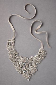BHLDN wedding necklace