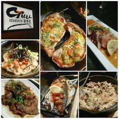 Last dinner in Toronto. #guu #izakaya #toronto #canada #saba #kimchi #udon #beeftongue #bibimbap #maguro #tataki #bakedoysters #food #foodporn #skinnyfat #dinner #GotFatInToronto by joellelising