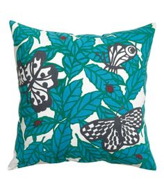 BUTTERFLY // CUSHION // GREEN BLUE