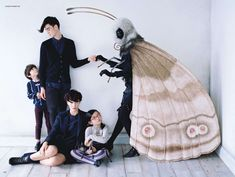 Susannah Liguori | Tim Walker | Vogue Japan September 2012 | Family Affair