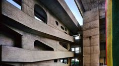 Le Corbusier High Court, Chandigarh, Punjab, India, 1952-56